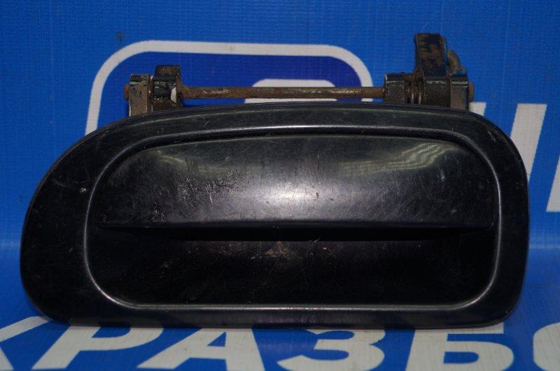 Ручка двери наружная Daewoo Nexia 1995 задняя левая (б/у)