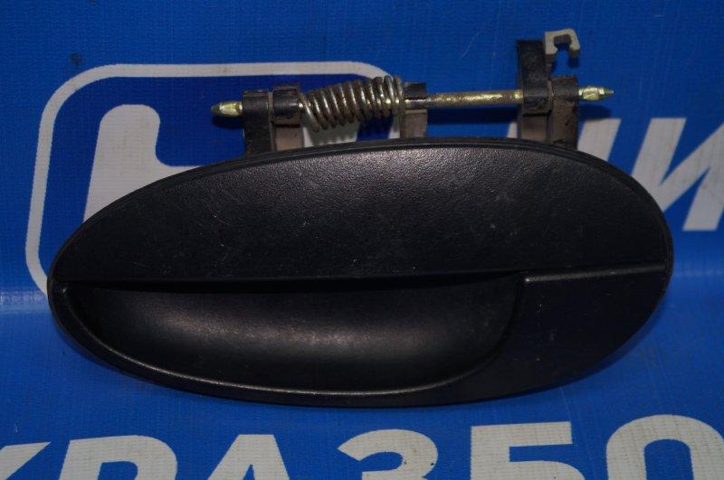 Ручка двери наружная Daewoo Matiz 1998 задняя левая (б/у)