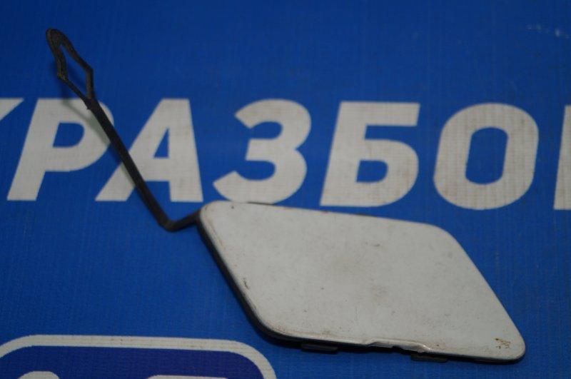 Заглушка буксировочного крюка Chevrolet Cruze J300 2009 передняя (б/у)