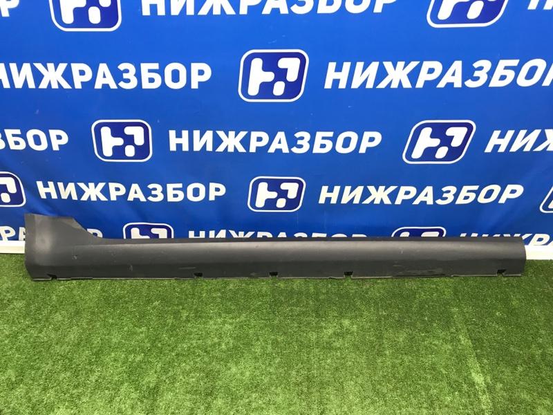 Накладка на порог (наружная) Lada Vesta правая (б/у)