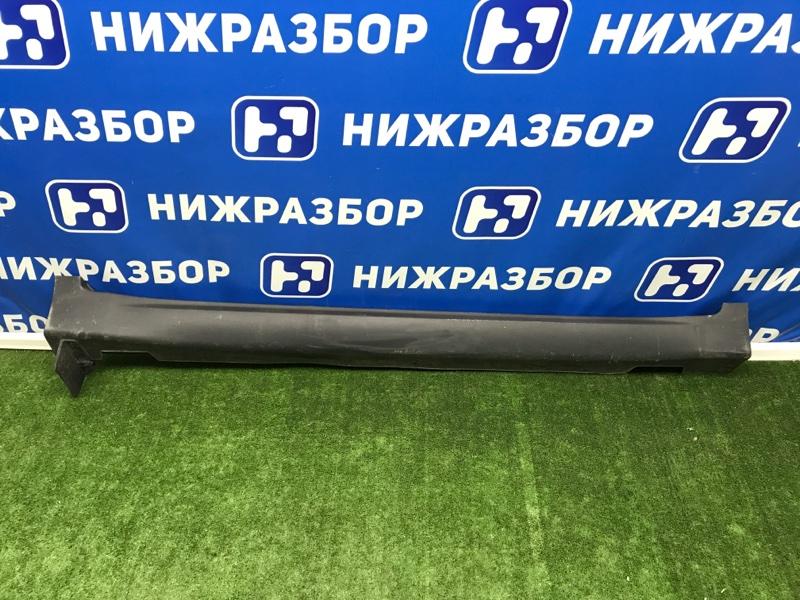 Накладка на порог (наружная) Kia Sportage 4 QL 2016> правая (б/у)