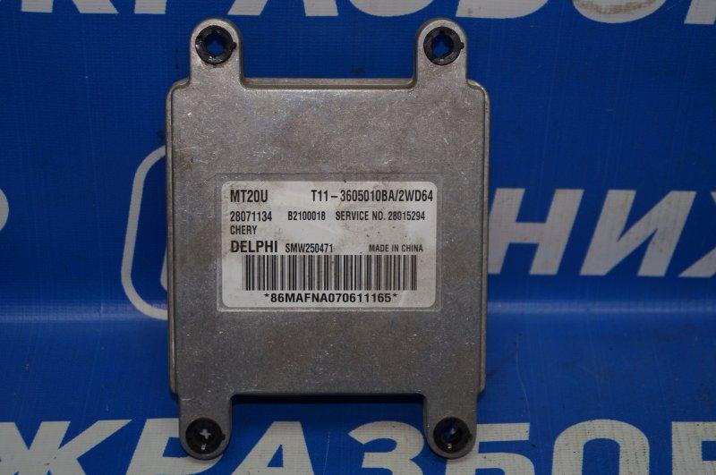 Блок управления двигателем Chery Tiggo T11 2.4 2005 (б/у)