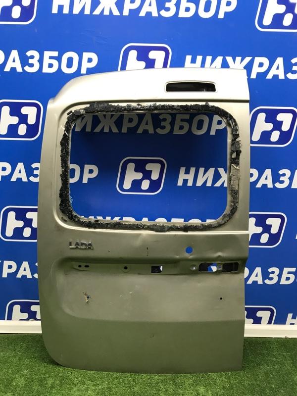 Дверь багажника Lada Largus задняя левая (б/у)