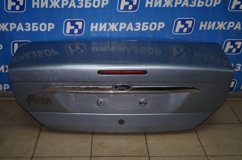 Крышка багажника Ford Focus 1 1.6 DURATEC ROCAM 2004 (б/у)