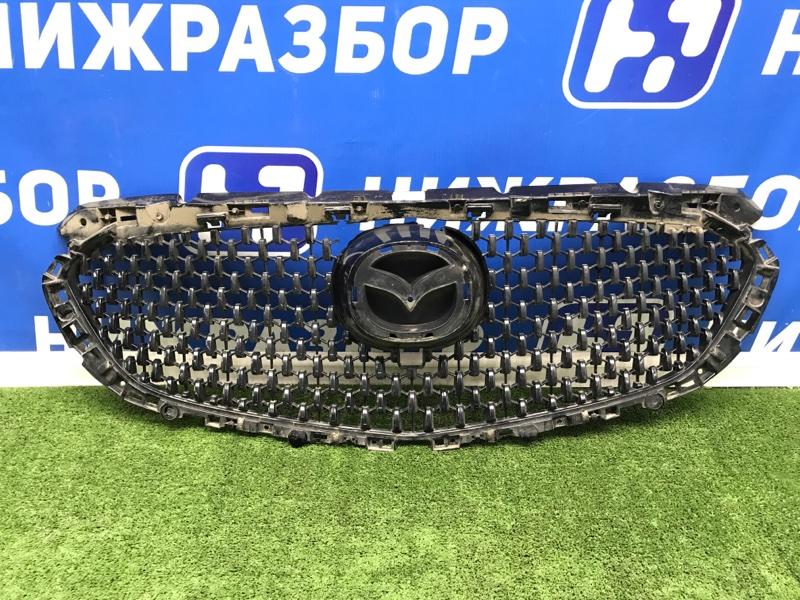 Решетка радиатора Mazda 6 передняя (б/у)