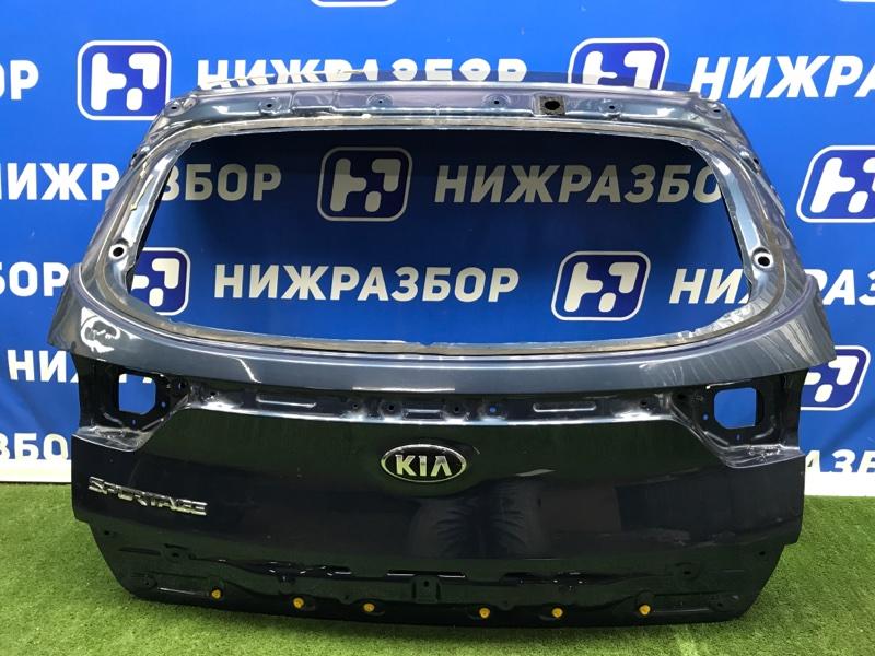 Крышка багажника Kia Sportage 4 QL 2016> задняя (б/у)