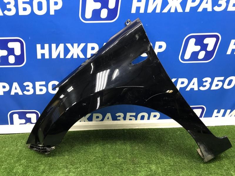 Крыло Hyundai Elantra переднее левое (б/у)