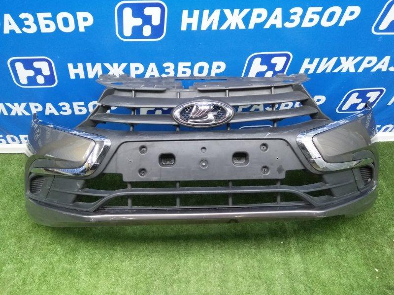 Бампер Lada Granta передний (б/у)