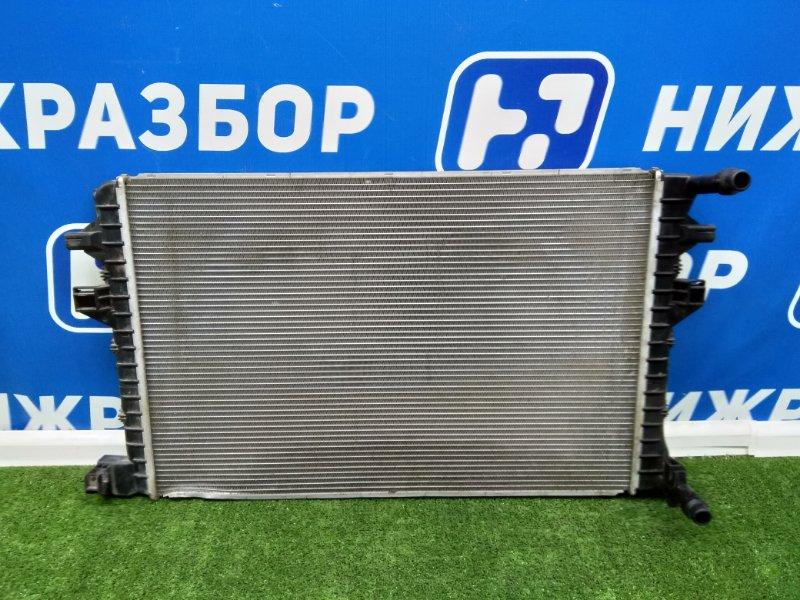 Радиатор основной Skoda Octavia передний (б/у)