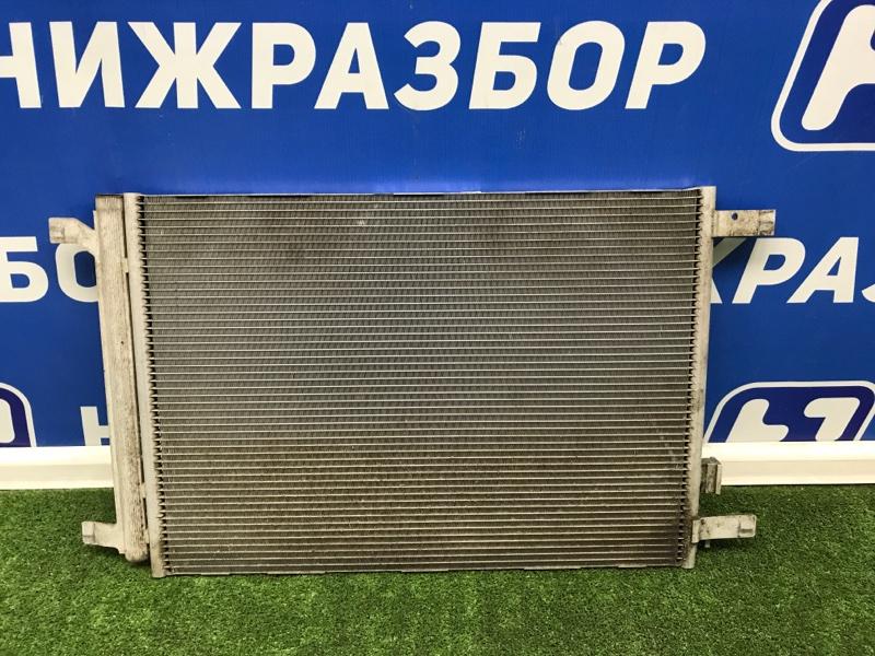 Радиатор кондиционера (конденсер) Skoda Octavia передний (б/у)