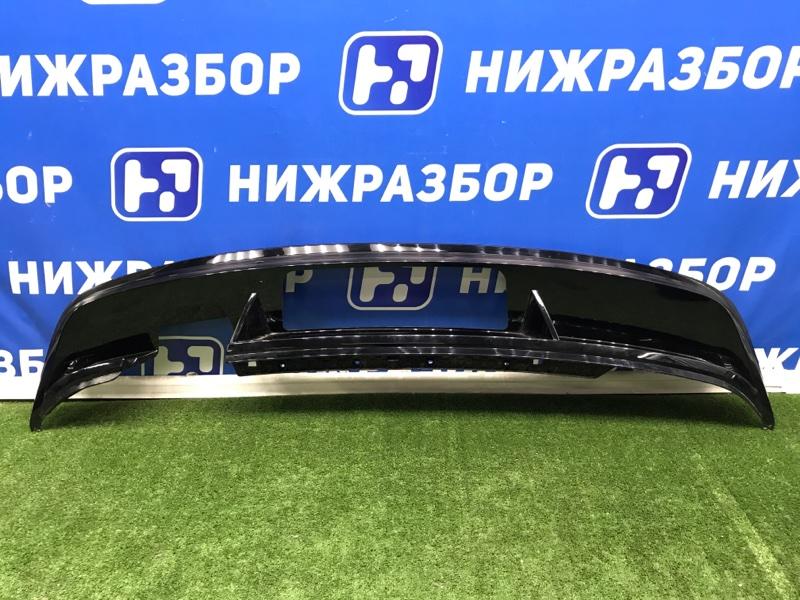 Накладка бампера Volkswagen Tiguan 2 задняя (б/у)