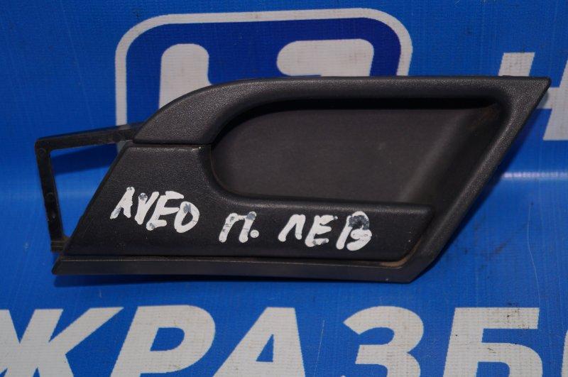 Ручка двери внутренняя Chevrolet Aveo T250 2005 передняя левая (б/у)