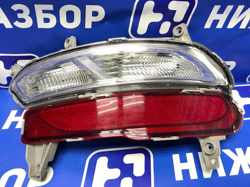 Фонарь в бампер Kia Sportage 4 задний правый (б/у)