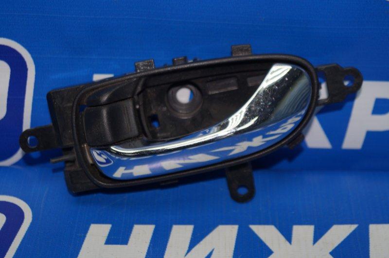 Ручка двери внутренняя Nissan Murano Z51 2008 передняя левая (б/у)