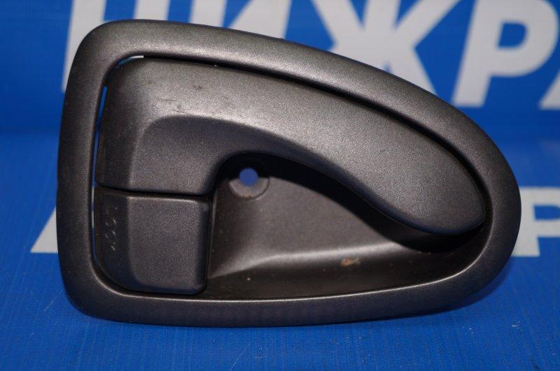 Ручка двери внутренняя Hyundai Accent 2 2000 задняя правая (б/у)