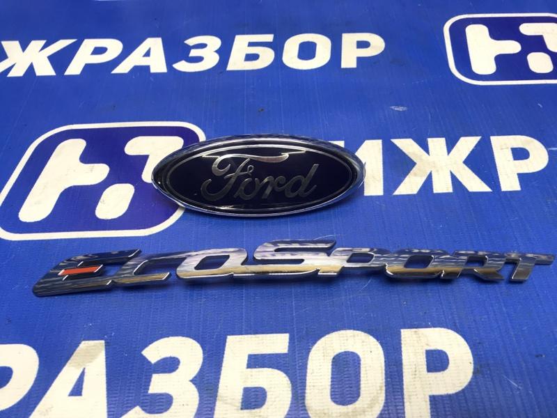 Значок (эмблема) Ford Ecosport задний (б/у)