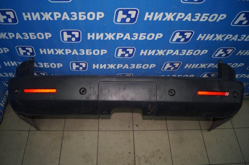 Бампер Land Rover Discovery 3 L319 2.7 TDI (276DT) 2008 задний (б/у)