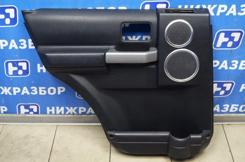 Обшивка двери Land Rover Discovery 3 L319 2.7 TDI (276DT) 2008 задняя левая (б/у)