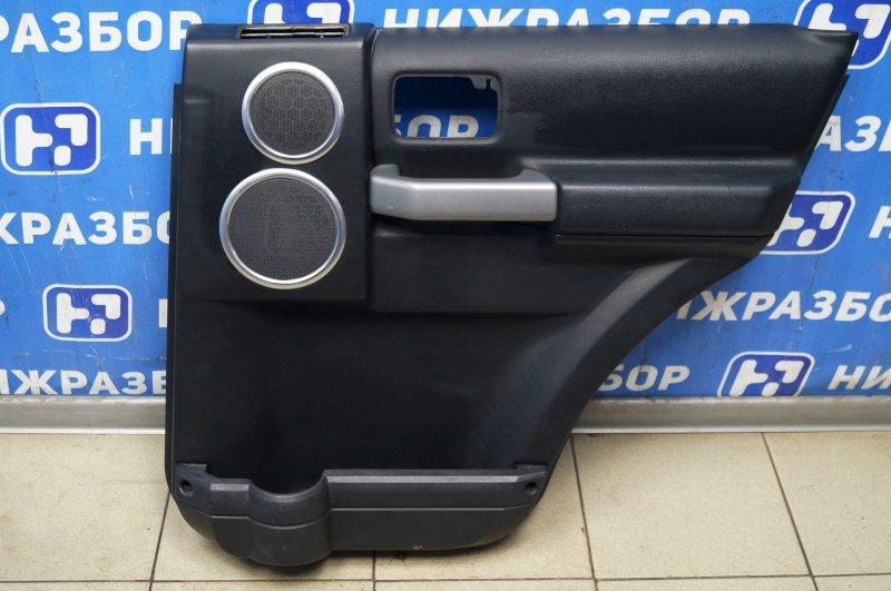Обшивка двери Land Rover Discovery 3 L319 2.7 TDI (276DT) 2008 задняя правая (б/у)