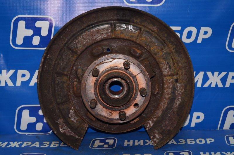 Кулак поворотный Land Rover Discovery 3 L319 2.7 TDI (276DT) 2008 задний правый (б/у)