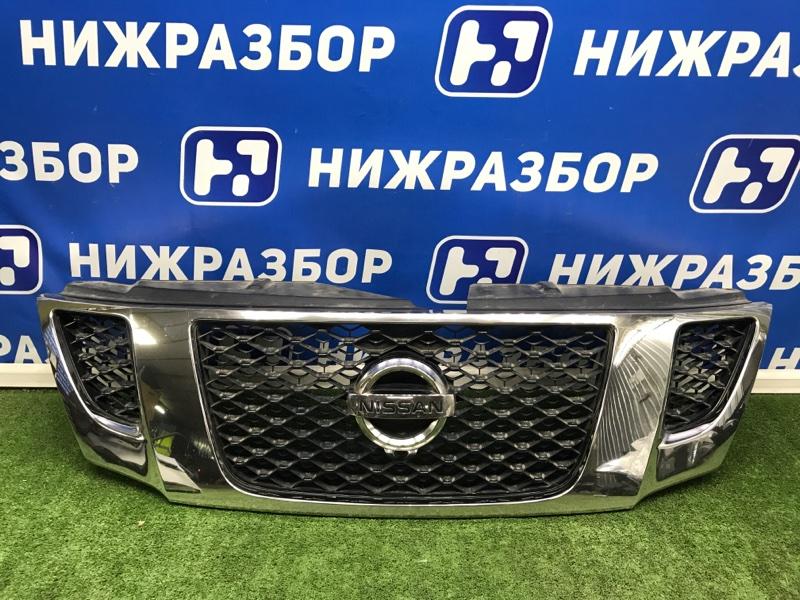 Решетка радиатора Nissan Patrol передняя (б/у)