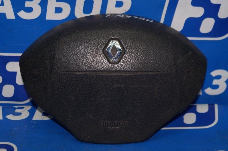 Подушка безопасности в руль Renault Megane 1 1.6 K4MA700 (б/у)