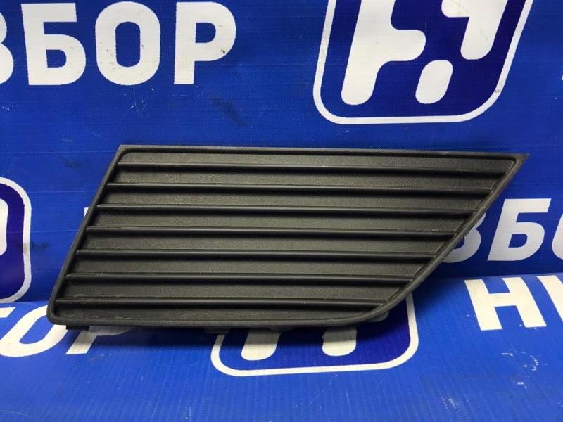 Накладка бампера Hyundai Creta 2016> задняя левая (б/у)