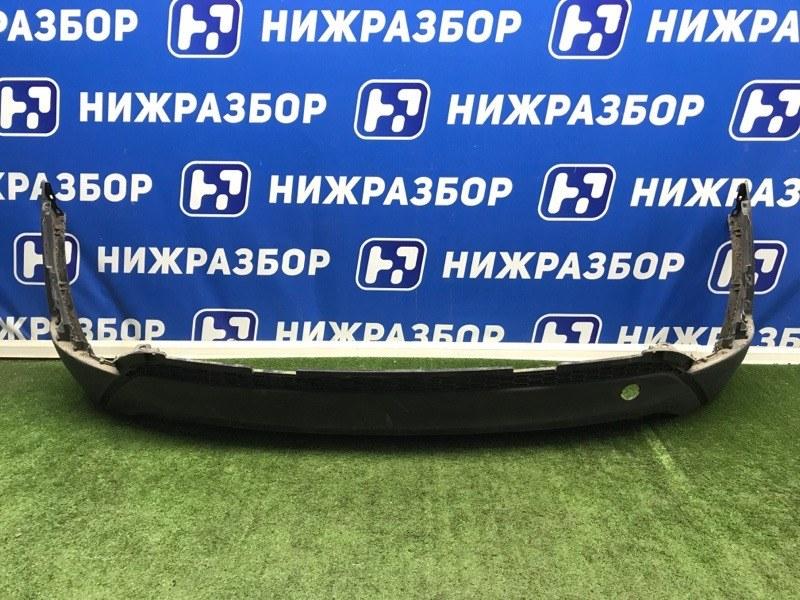 Юбка бампера Hyundai Tucson 3 2015> задняя (б/у)