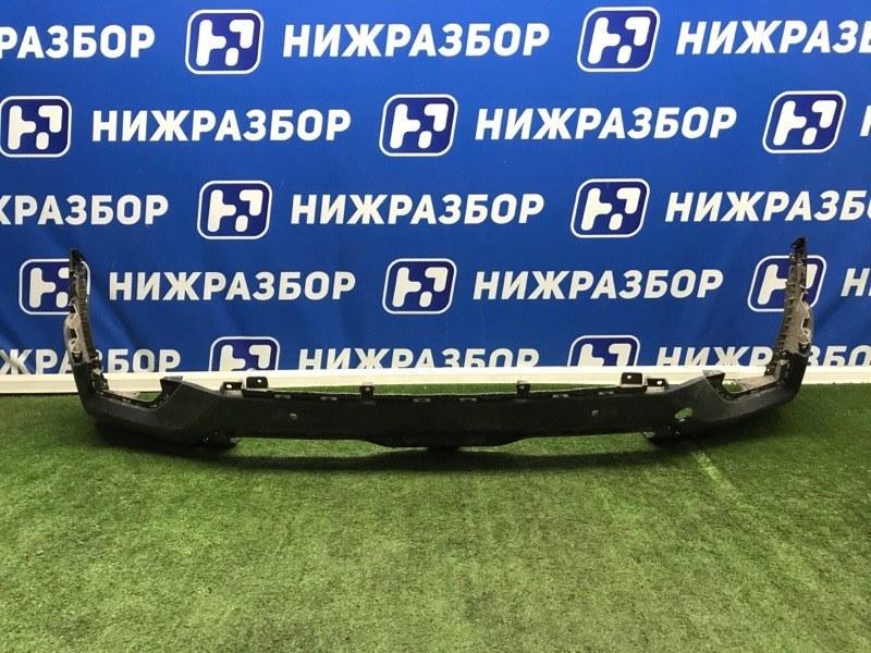 Юбка бампера Hyundai Creta 2016> задняя (б/у)