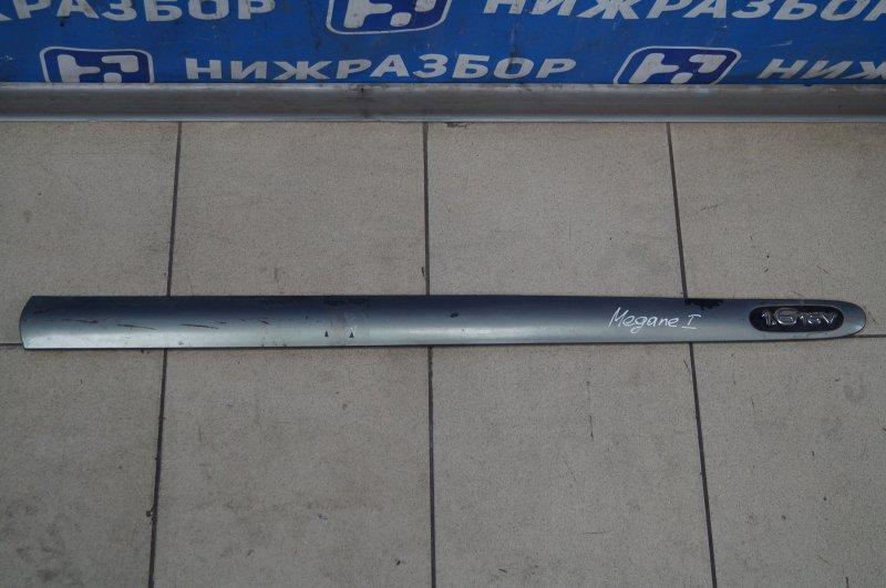 Молдинг двери Renault Megane 1 1.6 K4MA700 передний правый (б/у)