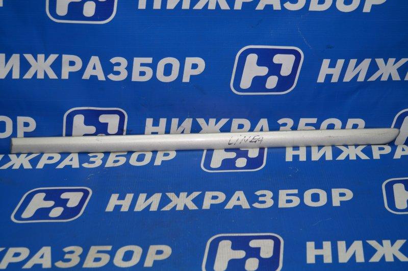 Молдинг двери Fiat Linea 1.4T 198A4000 2010 задний левый (б/у)
