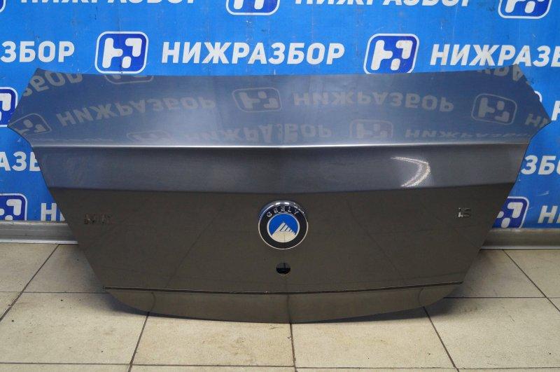 Крышка багажника Geely Mk 1.5 MR479QA 2011 (б/у)