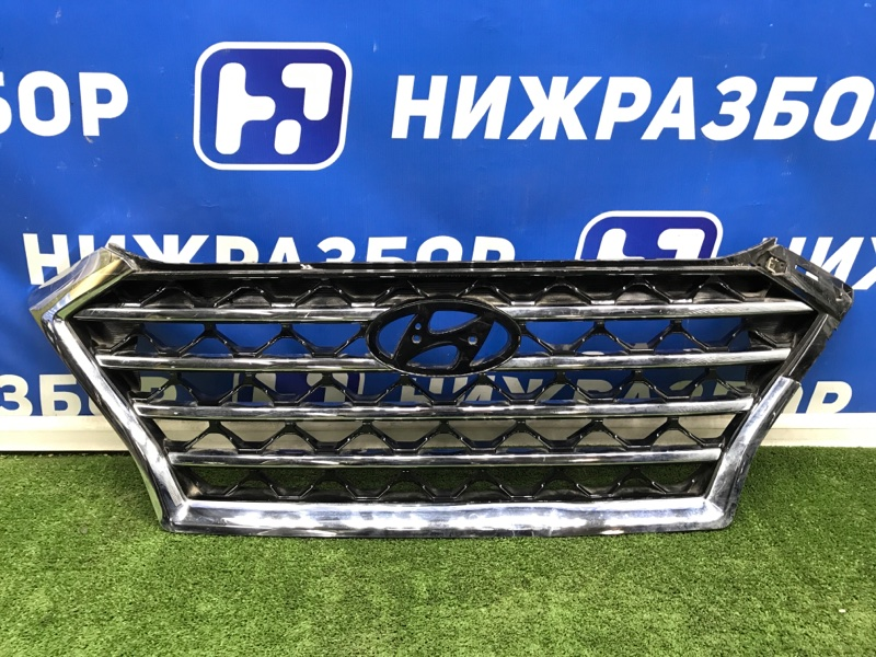 Решетка радиатора Hyundai Tucson 3 2015> передняя (б/у)