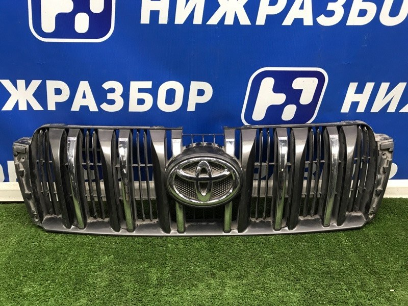 Решетка радиатора Toyota Land Cruiser Prado 150 передняя (б/у)