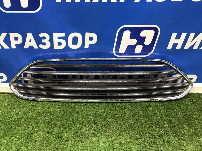 Решетка в бампер Ford Fiesta передняя (б/у)