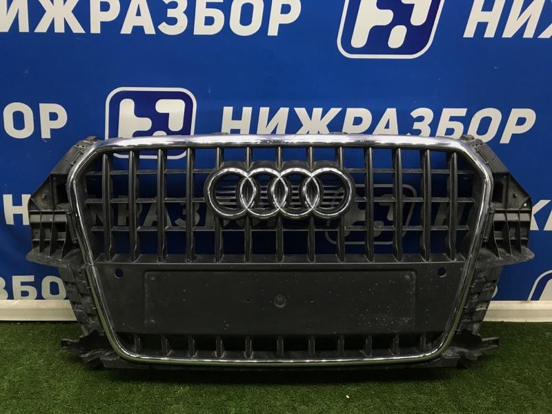 Решетка радиатора Audi Q3 2012> передняя (б/у)