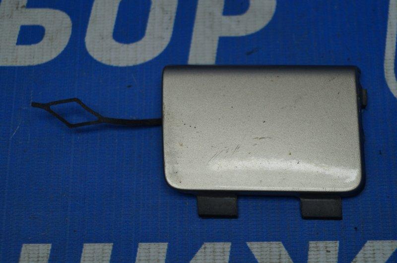Заглушка буксировочного крюка Peugeot 408 2012> передняя (б/у)