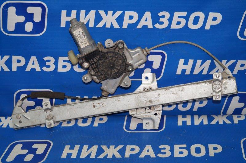 Стеклоподъемник эл. Hyundai Getz 2002 передний левый (б/у)