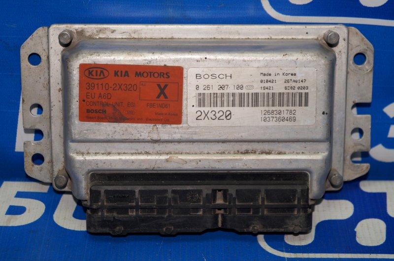 Блок управления двигателем Kia Spectra 1.6 2001 (б/у)