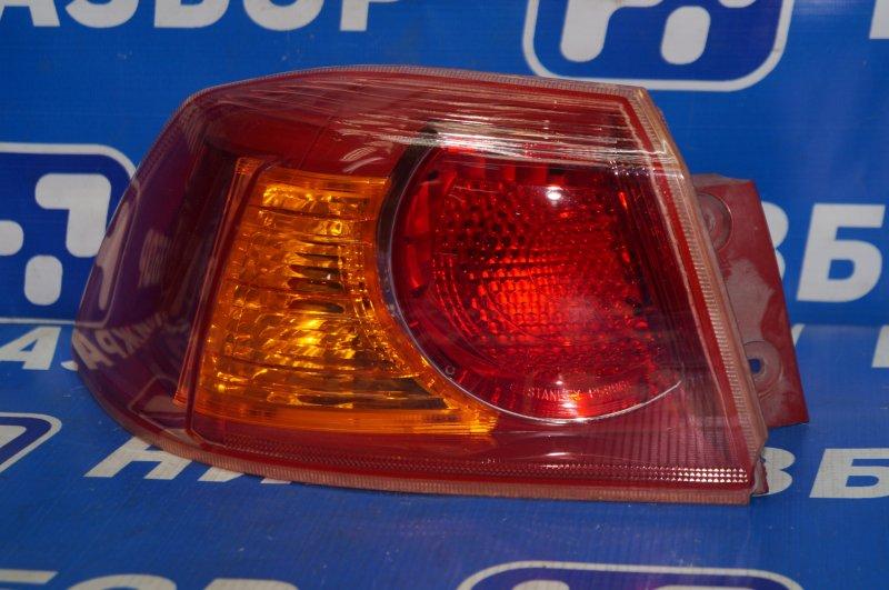 Фонарь наружный Mitsubishi Lancer 10 CX 2007 задний левый (б/у)