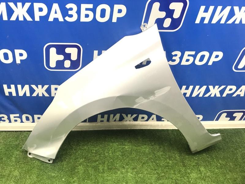 Крыло Hyundai Solaris 2 2017 переднее левое (б/у)