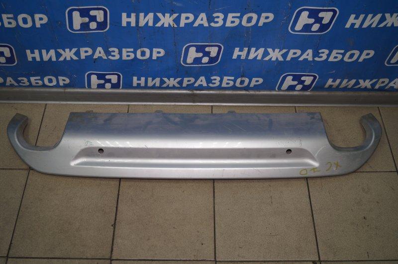 Накладка бампера Volvo Xc 70 2007 задняя (б/у)