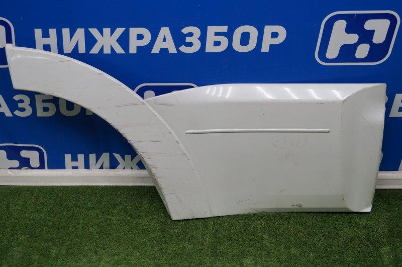 Накладка двери Mitsubishi Pajero 4 V8 2007> задняя правая (б/у)