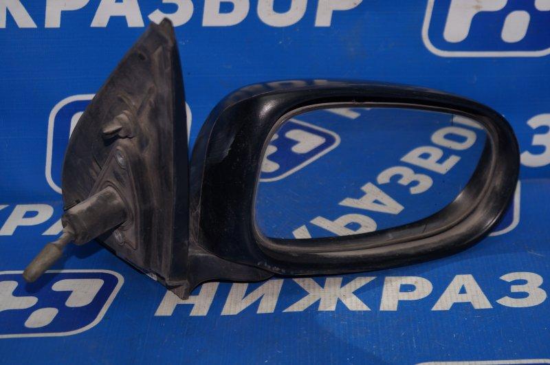 Зеркало механическое Nissan Almera N16 2000 правое (б/у)