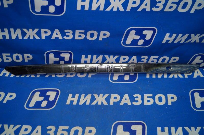 Накладка двери багажника Infiniti Fx/qx70 S51 2008 (б/у)