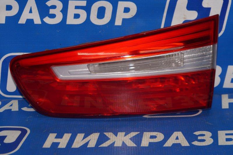 Фонарь внутренний Kia Rio 3 QB 2011 задний правый (б/у)