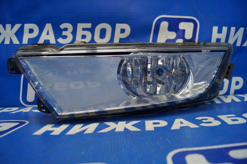 Фара противотуманная Skoda Octavia A7 2013> передняя левая (б/у)