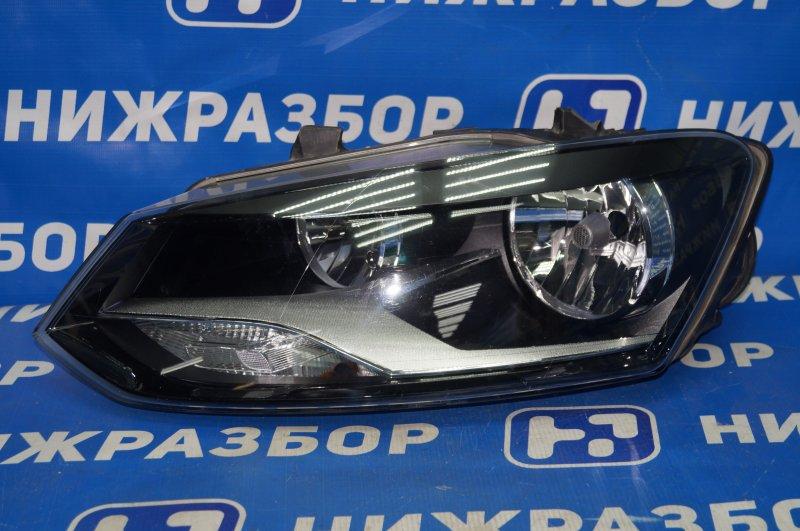 Фара Volkswagen Polo HB 2009 левая (б/у)