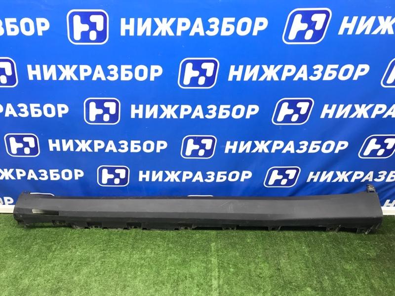 Накладка на порог (наружная) Bmw X5 G05 левая (б/у)