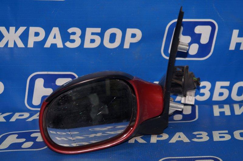Зеркало электрическое Peugeot 206 1998 левое (б/у)